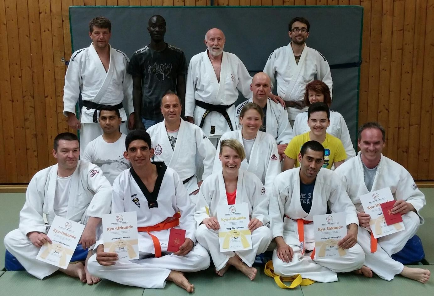 FCS-Budo Judoprüfung Gruppenbild