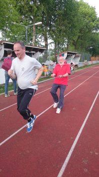 Sprintvorübung, das kostet Kraft :-)